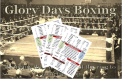 Glory Days Boxing