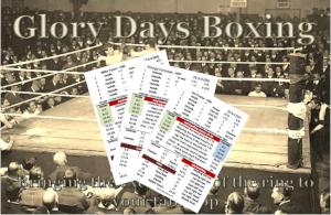 Glory Days Boxing